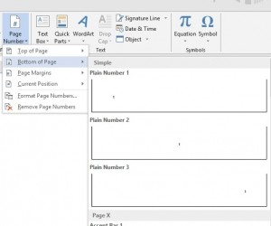 Header and Footer - Page Numbering - image 1