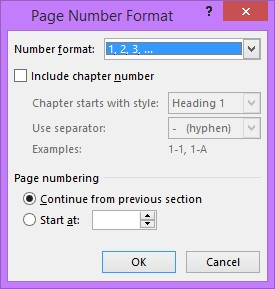 Header and Footer - Page Numbering - image 3